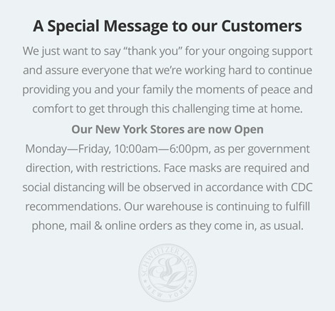 Special Message to Our Customers