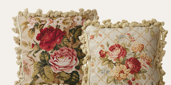 Category Needlepoint Pillows