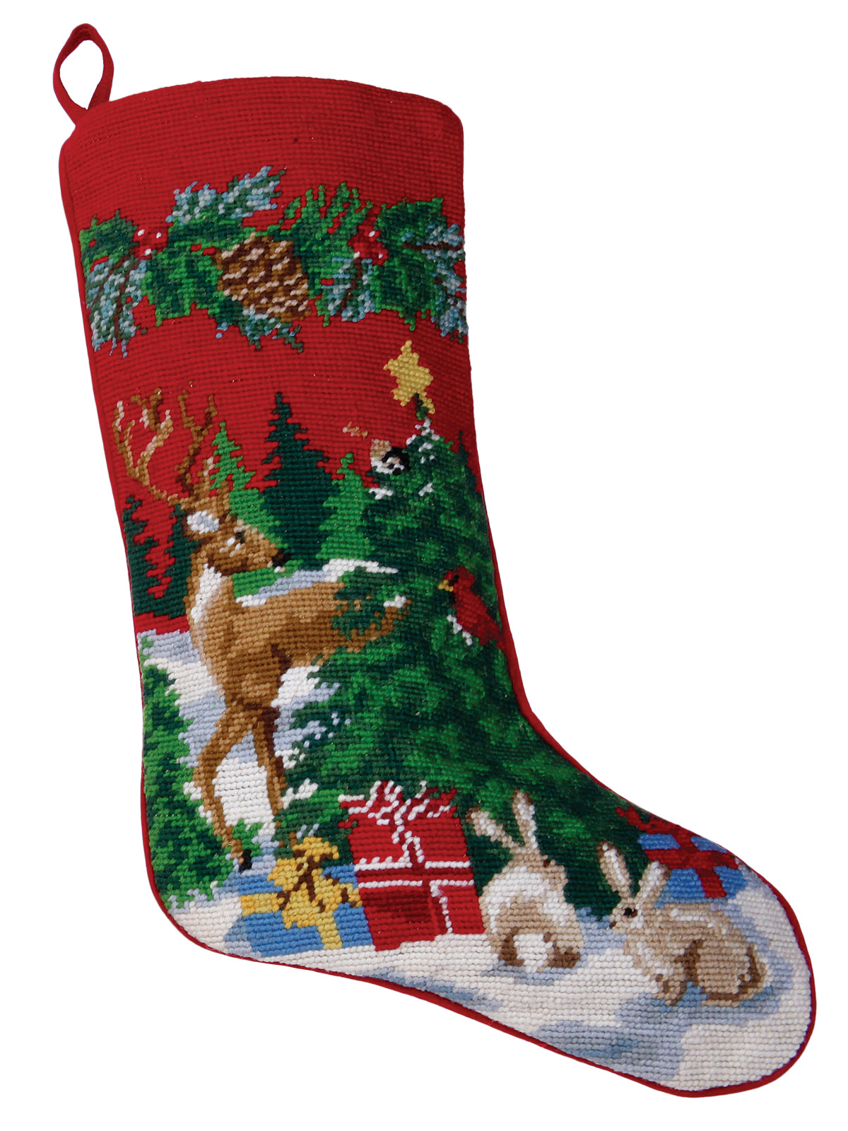 Christmas Stockings Reindeer Accessories Schweitzer Linen