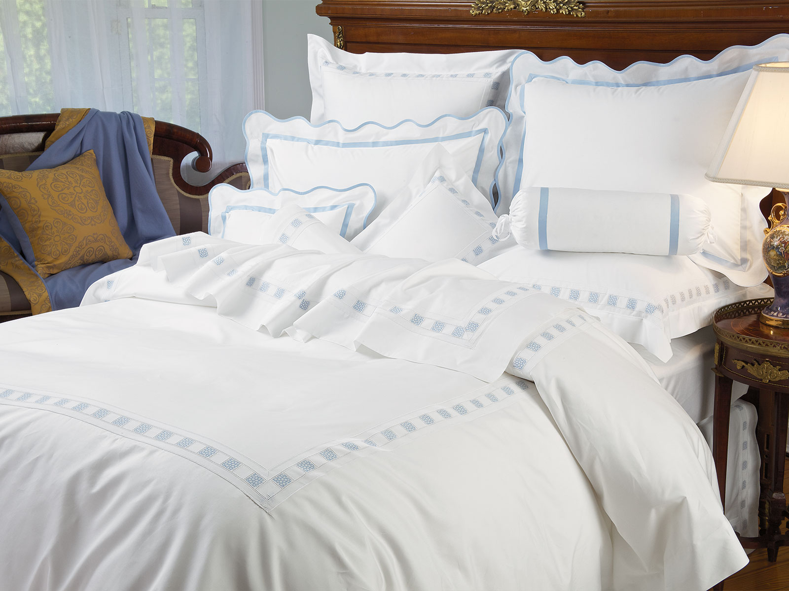 Prato Luxury Bedding Italian Bed Linens Schweitzer Linen