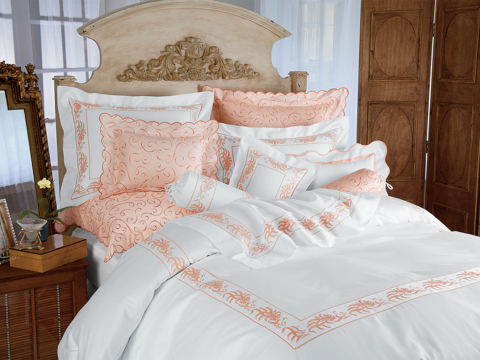 Ch 233 Nier Luxury Bedding Italian Bed Linens Schweitzer