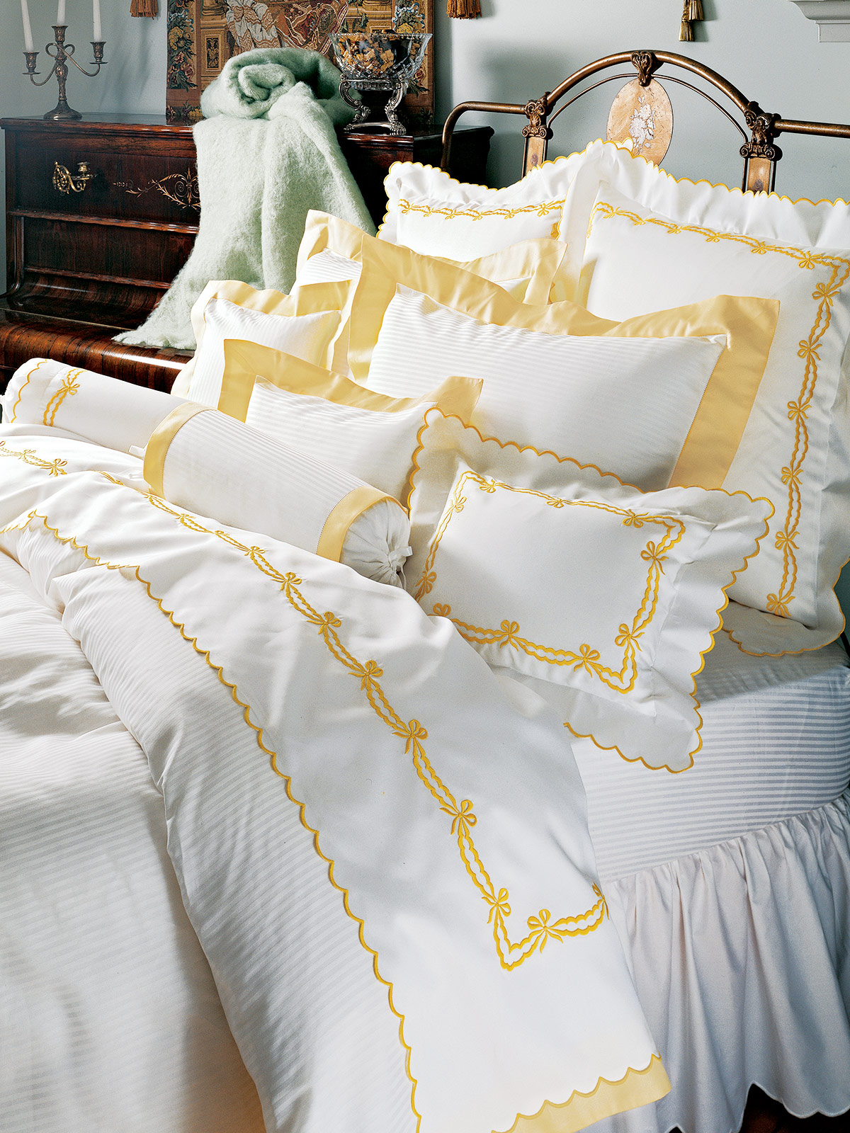 Angelica Luxury Bedding Italian Bed Linens