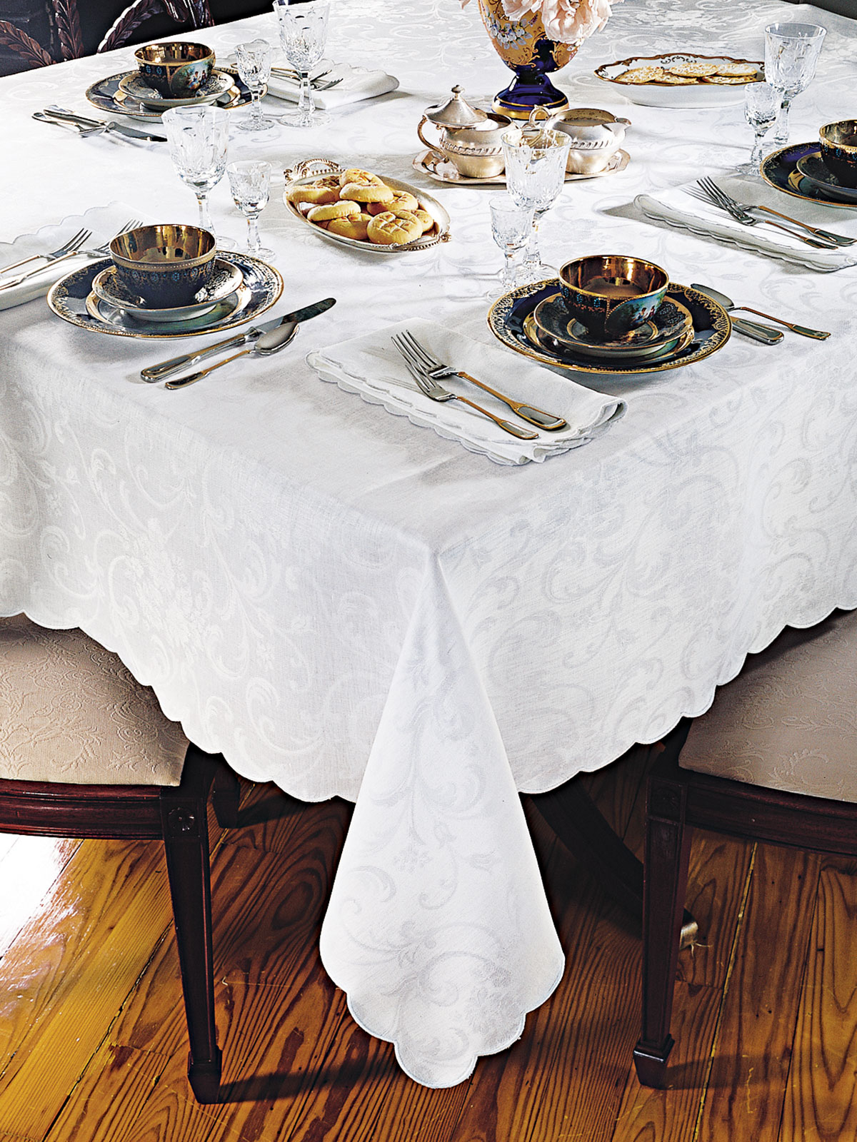 Armonia Tablecloth Fine Table Linens Schweitzer Linen