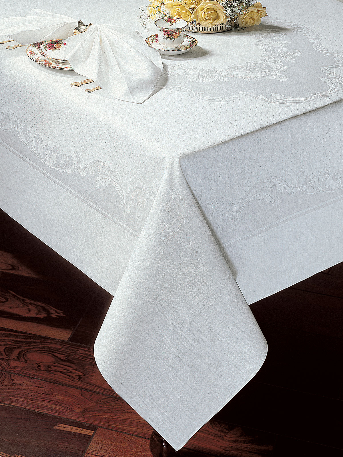 Floral Essence Fine Table Linens Schweitzer Linen