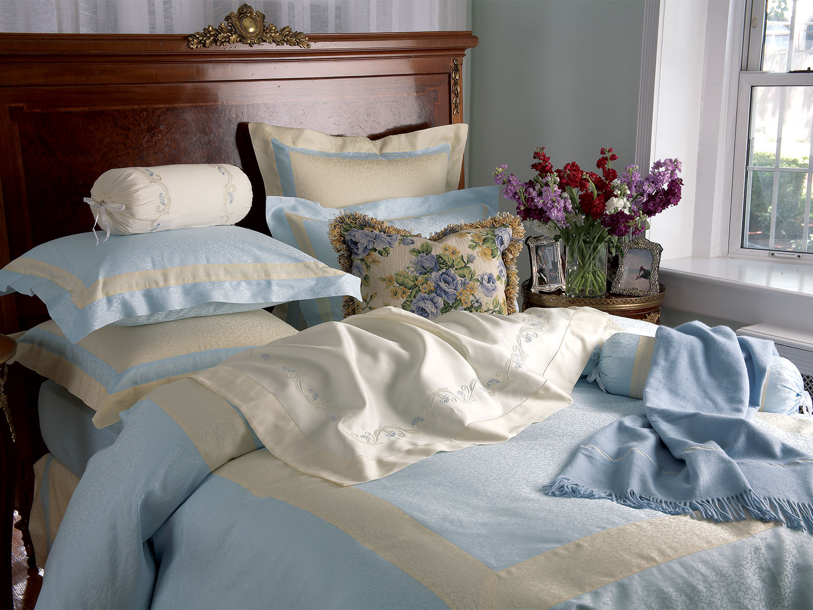 Venezia Luxury Bedding Italian Bed Linens Schweitzer