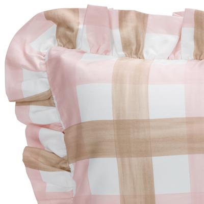 Brown, Pink, & White