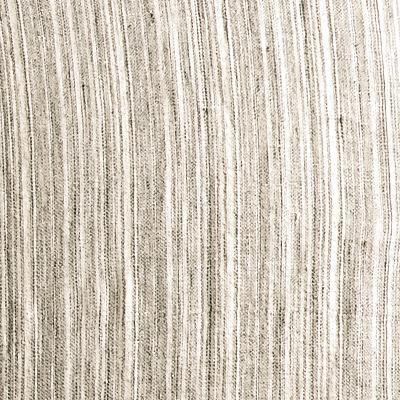 Fitted Beige Stripe Linen