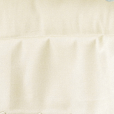 Fitted Ivory Percale