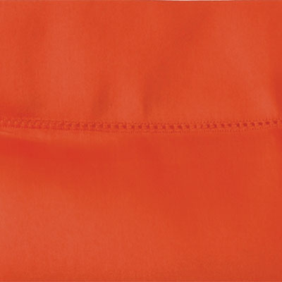 Fitted Terracotta Sateen