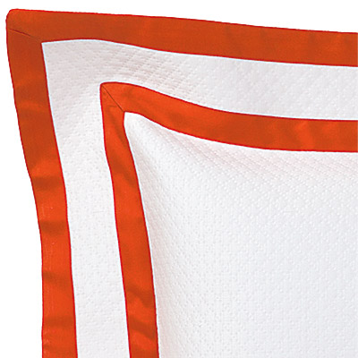 White on Orange