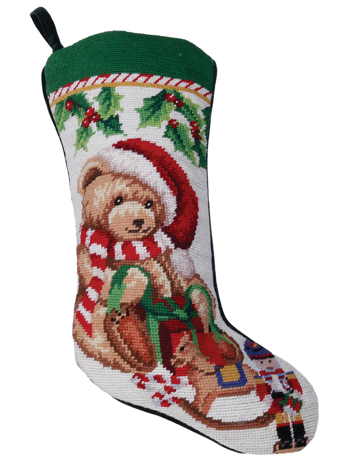 Christmas Stockings Teddy Bear Accessories Schweitzer