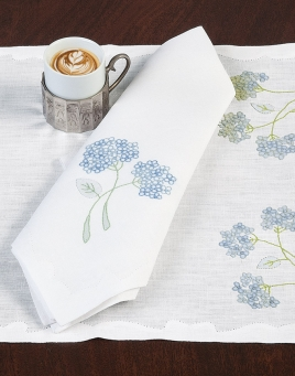Hydrangea Table Linen