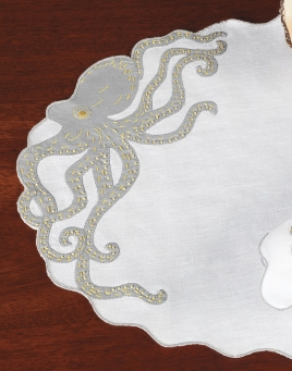 Octopussy Placemat & Napkins