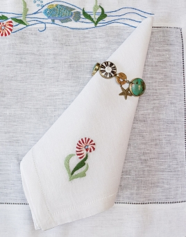Salty Sea Placemats & Napkins