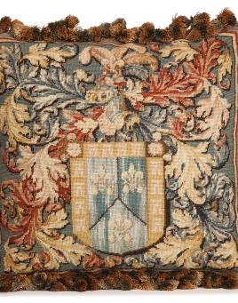 Le Blason Tapestry Pillow