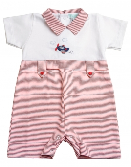 Cullen - Airplane Romper
