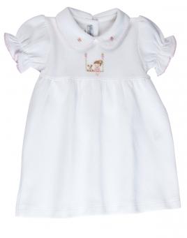 Emilia Smocked Dress & Bloomers