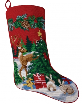 Christmas Stockings: Reindeer