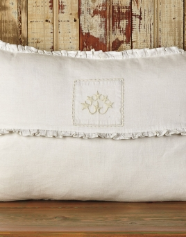Decorative Ruffled Cushion