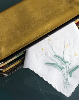 Calla Lily Ladies Handkerchief