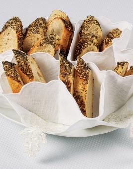 Rouleaux Bread Basket Liner
