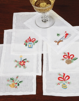 Holiday Spirit Cocktail Napkins