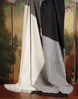 Quadrants Wool/Cashmere Throw