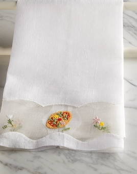 Easter Eggs Guest Towels