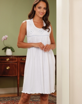Night Gown Short Empire