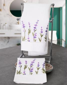 Lavender Guest Towels
