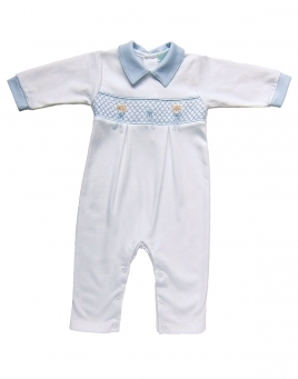 Liam - Smocked Jumpsuit