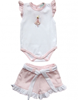 Charlotte -  Bodysuit & Shorts