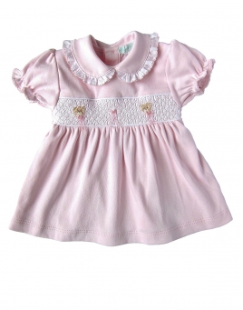 Camilla - Smocked Dress & Bloomers