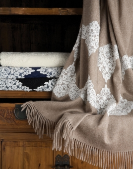 Bagatelle Cashmere Throw