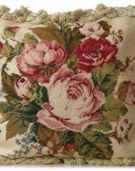Bodnant Garden Tapestry Pillow