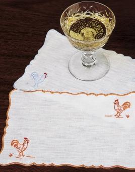 Rooster Cocktail Napkins