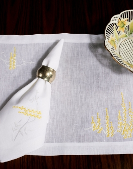 Fiori Gialli Placemat Sets