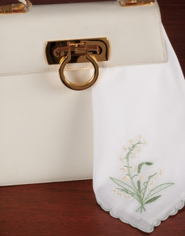 Lily of the Valley Ladies handkerchief