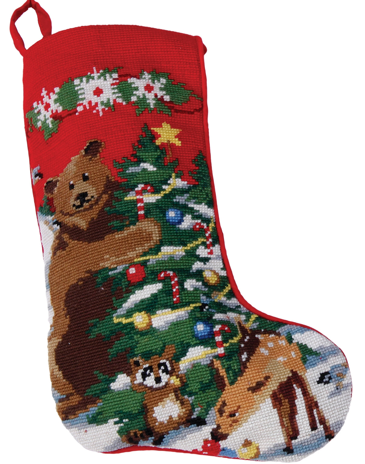 Christmas Stockings: Bear
