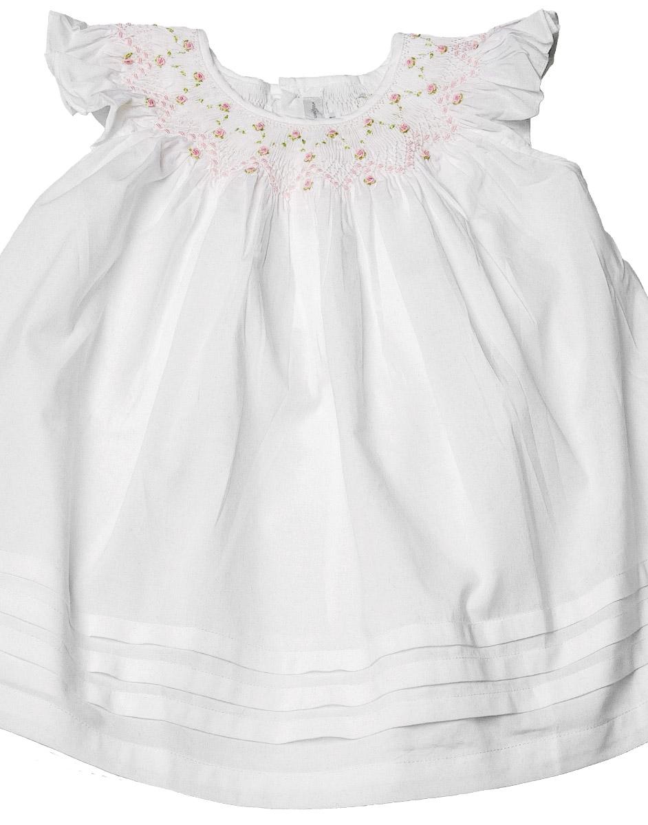 Rosy-Garden Twirls Dress