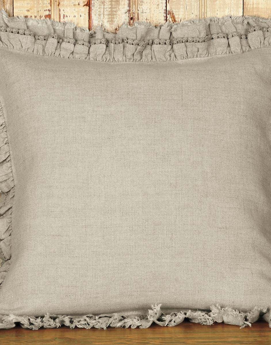 Decorative Ruffled Cushion