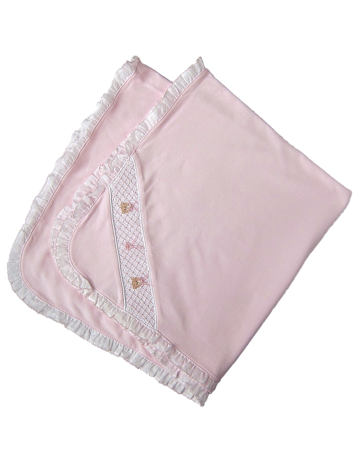 Smocked Baby Blankets