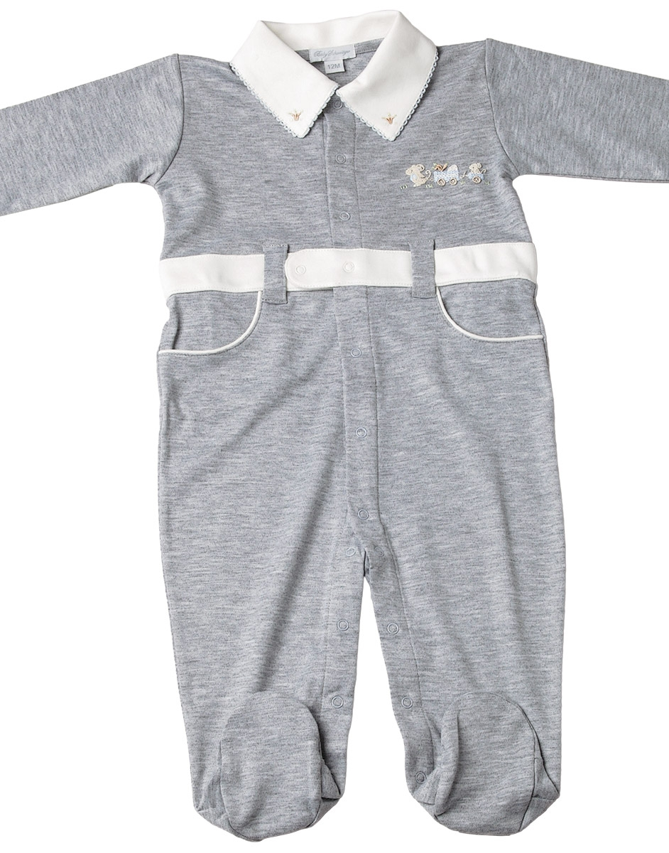 Kevin - Mouse Wagon Jumpsuit