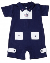 Jonah - Anchors' Away Onesie