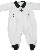 Caleb - Happy Sails Jumpsuit